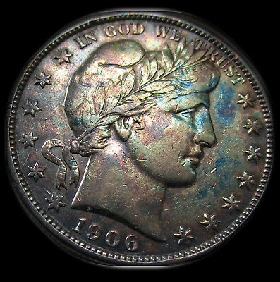 1906 - S Half Dollar - Gorgeous Strike of Coin