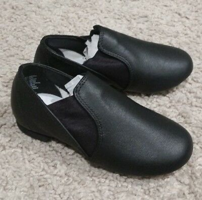 Little Girl's Size 10 Black Jazz Shoes -American Ballet Theatre, Brand New
