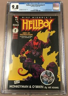 Hellboy Seed Of Destruction #1 (1994) 1st Hellboy In Own Title Mike Mignola