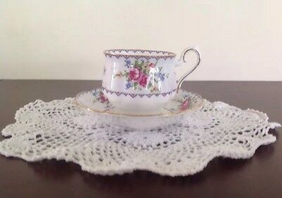 Royal Albert Petit Point Teacup & Saucer