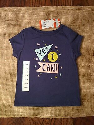 """New With Tags! """"YES I CAN!"""" T-shirt for a Boy or Girl. Size 18 Months"""