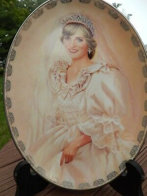 """""""The People's Princess"""" by Jean Monti 1st issue Diana: Queen of Our Hearts Plate"""