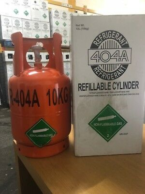 R404a Gas 10kg Brand New Cylinder - R404 R-404 - Collection And Delivery Welcome