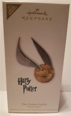 New 2011 Golden Snitch Harry Potter Hallmark Limited Quantity Ornament
