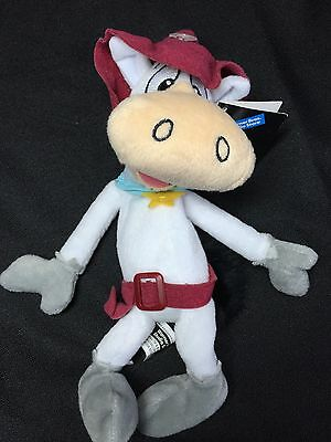 NEW Warner Brothers 1998 QUICK DRAW McGRAW Bean Bag Plush Toy Hanna Barbera