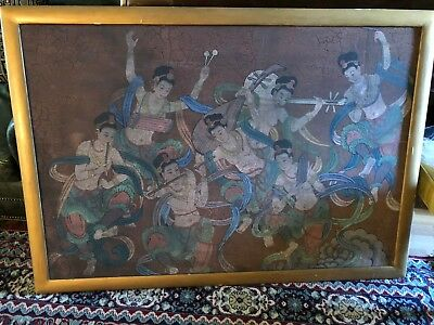 """Vintage/antique Chinese Painting """"seven Sisters"""""""