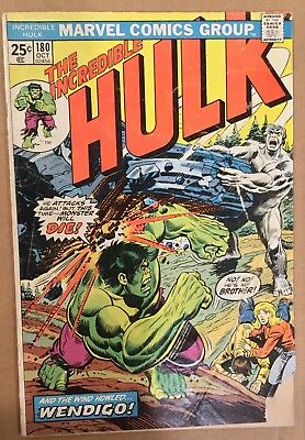 Incredible Hulk #180! 1st Wolverine Cameo! Marvel Value Stamp Intact! 12 Pics!