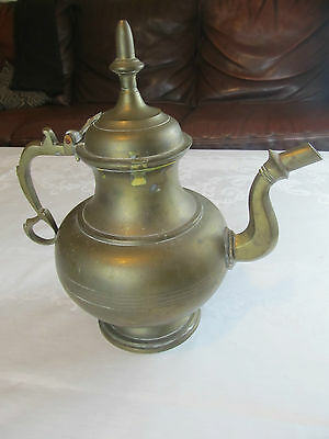 Very Large Antique  Brass Tea Coffee Pot  Urn