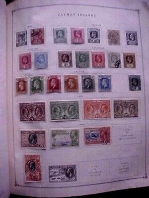 Cayman Islands – 1902-1935  Collection Of 26 Different Stamps