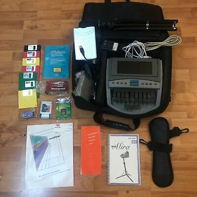 Elan Mira G2 Stenograph Machine Court Reporting With Case Stand & Extras L@@K!