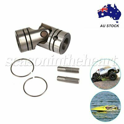 Silver Grey 12mm Dia Steering Universal Joint Motor Coupling 4000rpm/min