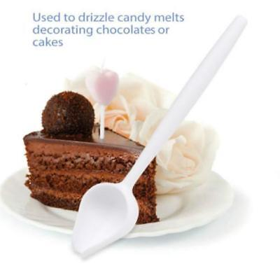 Funnel Spoon For Chocolate Candy Sweets Cakes Drizzling Scoop MP