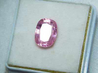 Kunzite natural 6.75Cts oval Cut Translucent Pink Untreated Loose Gemstone 4006