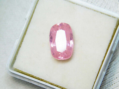 Kunzite natural 8.75Cts oval Cut Translucent Pink Untreated Loose Gemstone 4021