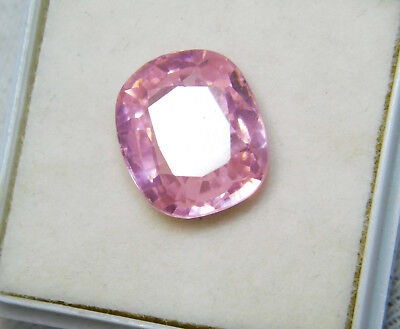 Kunzite natural 10.55Cts oval Cut Translucent Pink Untreated Loose Gemstone 4023