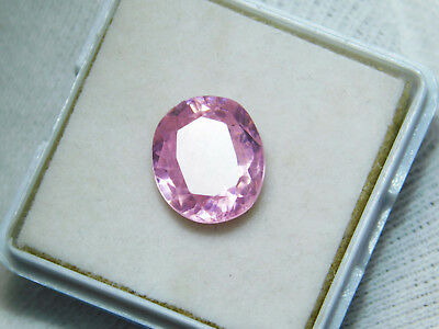 Kunzite natural 8.80Cts oval Cut Translucent Pink Untreated Loose Gemstone 4034