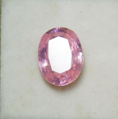 Kunzite natural 8.65Cts oval Cut Translucent Pink Untreated Loose Gemstone 4037