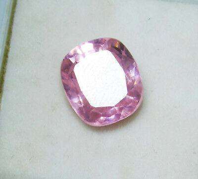 Kunzite natural 9.10Cts oval Cut Translucent Pink Untreated Loose Gemstone 4038