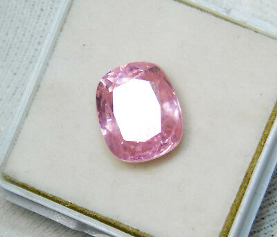 Kunzite natural 9.90Cts oval Cut Translucent Pink Untreated Loose Gemstone 4039
