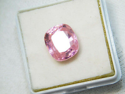 Kunzite natural 12.95Cts oval Cut Translucent Pink Untreated Loose Gemstone 4040