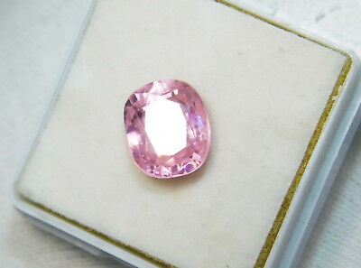 Kunzite natural 7.50Cts oval Cut Translucent Pink Untreated Loose Gemstone 4041