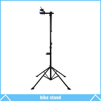 """New Pro Bike Adjustable 42"""" To 74"""" Cycle Bicycle Rack Repair Stand w/ Tool Tray"""