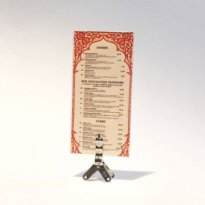 30 X Buffet Sign Card Holder With Dl Top