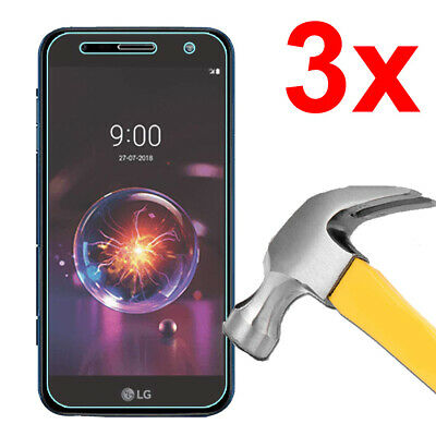 2x TEMPERED GLASS SCREEN PROTECTOR FOR LG X POWER 3