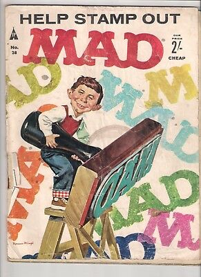 Mad Magazine No 28.