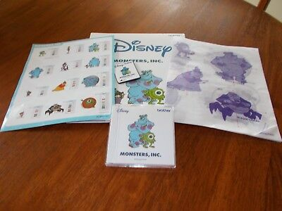 Disney Monster, Inc. Machine Embroidery Card