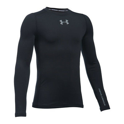 Under Armour Coldgear Shirt Crew langarm Kids F001