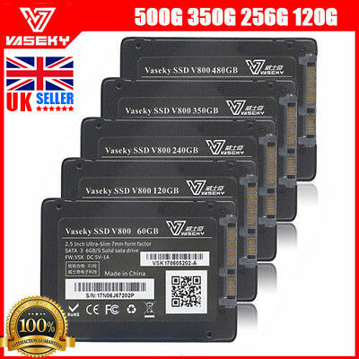 Vaseky 500GB 2.5 inch SATA  III High Speed SSD Solid State Drive - UK