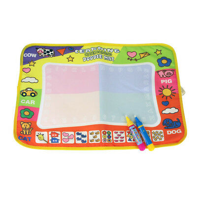 2018 Large Aqua Magic Water Drawing Painting doodle Mat Pad with 2 Water Pen Toy