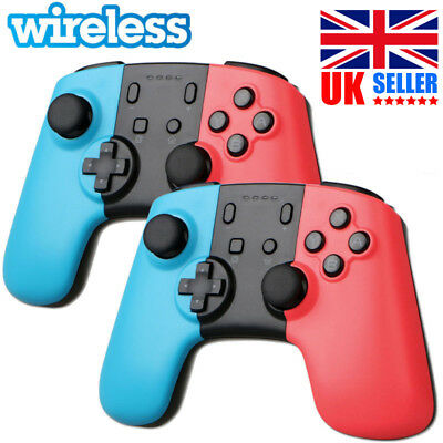 1/2x Wireless Game Controller Gamepad Joypad Remote for Nintendo Switch Console