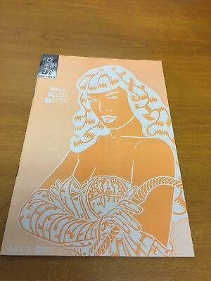 Who Killed Bettie (Page) by Lennoxx 1998 Neon Type D (Used) Variant Cover