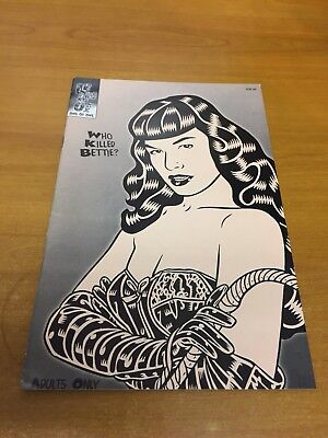 Who Killed Bettie (Page) by Lennoxx 1998 One of One (Used) Variant Cover