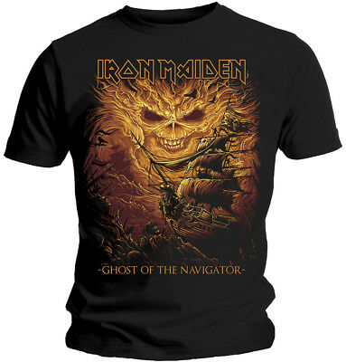 Iron Maiden 'Ghost Of The Navigator' T-Shirt - NEW & OFFICIAL!
