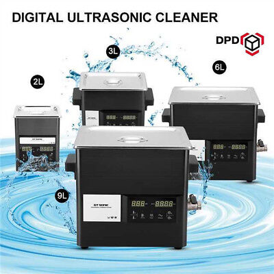 Digital Stainless Ultrasonic Cleaner Ultra Sonic Bath Cleaner Tank Timer Heate