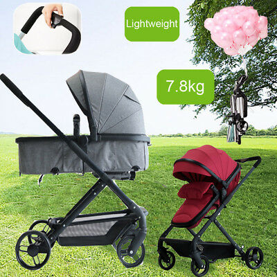 Luxury Baby Stroller Portable Lightweight Travel Jogger Easy Carry Foldable Pram