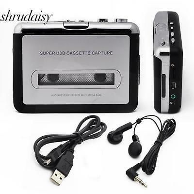 New Tape to PC USB Super Cassette to MP​3 Converter Capture Audio Music S5DY 02