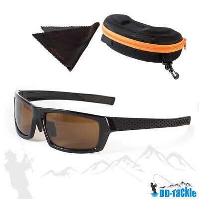 Polbrille mit Hard-Case Angelbrille, Polarisationsbrille zum Angeln sun glass