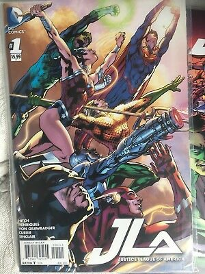 JLA: Justice League Of America -  Issues 1-10 - Bagged
