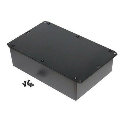 Hammond 1591XXFFLBK FRABS Enclosure Flanged Lid 221 x 150 x 63mm Black