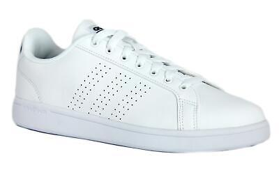 big sale e6084 3c17e Sneakers Adidas Cf Advantage Cl Bb9624 Uomo Pelle Bianco