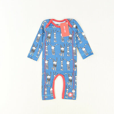 Pelele color Azul marca Kik Kid 1 Mes