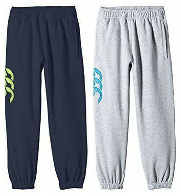 Canterbury Boys Youth Core Cuffed Fleece Running Gym Track Pants Bottoms SZ 6 12
