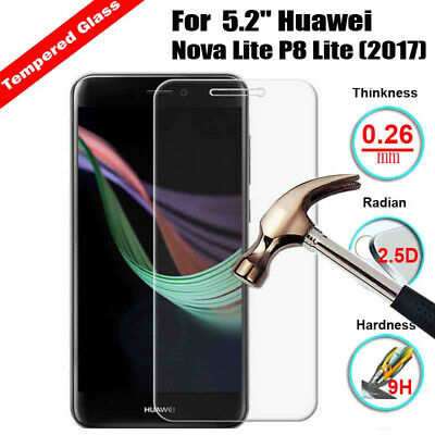 Premium Tempered Glass Screen Protector Cover For Huawei Mate 9 Lite / Honor 6X