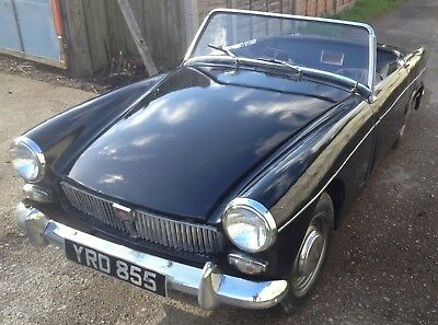 MG Midget Mk1, RARE EARLY 1962, Sidescreen model, 56 years old!
