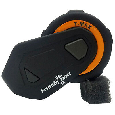 FREEDCONN T - Max 1.5KM 6 Riders Motorcycle Helmet Intercom Bluetooth FM Headset