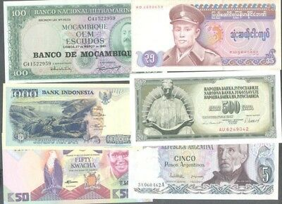 World Banknotes -200 all different uncirculated-excellent collection